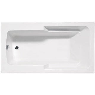 Americh MA6632B-WH Madison Builder Rectangular Whirlpool Bathtub with 6 Jets