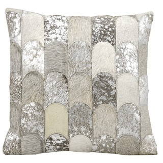 Nourison Kathy Ireland Silver Grey 20-inch Accent Throw Pillow