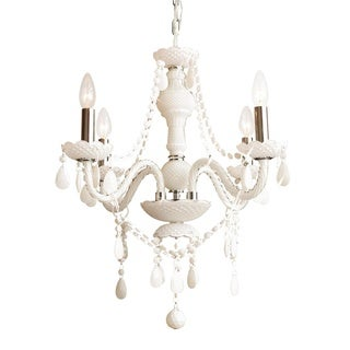 Gallery Snow White All-crystal 4-light Chandelier