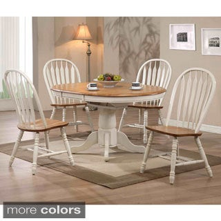 Whitaker Furniture Missouri Round 5-piece Dining Set