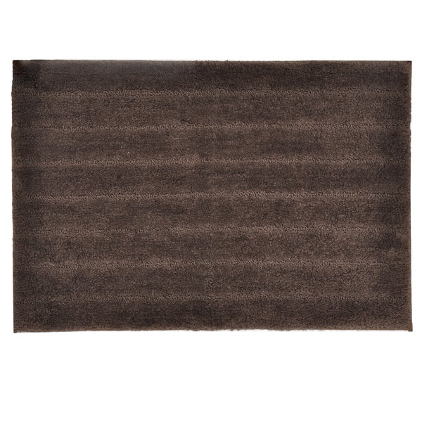 Veruka Bronze Brown Bath Rug