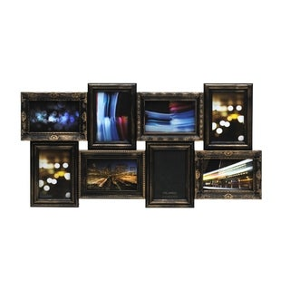Melannco Bronze Rub Multi Profile 8-photo Collage Frame