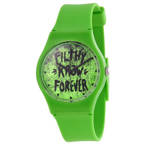 Kr3w Women's K1341GR Green Freshman Watch