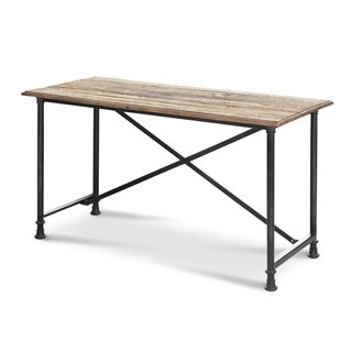 Lafayette Reclaimed Wood and Steel Desk