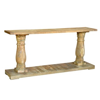 Reclaimed Wood Transitional Console Table