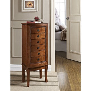 Linon Molly Jewelry Armoire Overstock Shopping Big