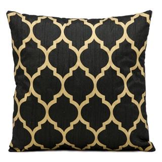 Nourison Kathy Ireland 18-inch Black Throw Pillow