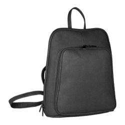 David King Leather 324 Backpack Black