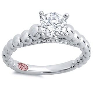 Demarco Designer 18k White Gold 1ct TDW Diamond Engagement Ring (F-G, SI1-SI2)
