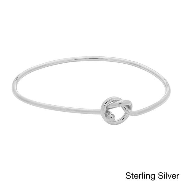 Gioelli Sterling Silver Knot Bracelet