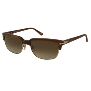 Persol Men's PO3043 Rectangular Sunglasses