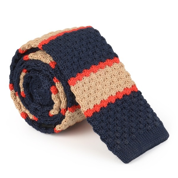 Vance Men's Patterned Knit Tie