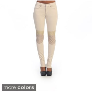 Hadari's Women's Knee-patch Casual Pants