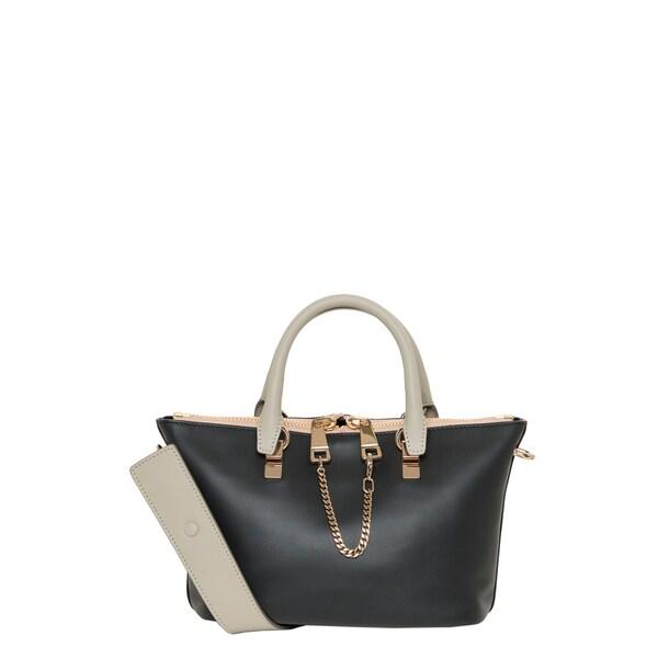 Chloe Mini \u0026#39;Baylee\u0026#39; Bi-color Calfskin Leather Shoulder Bag ...