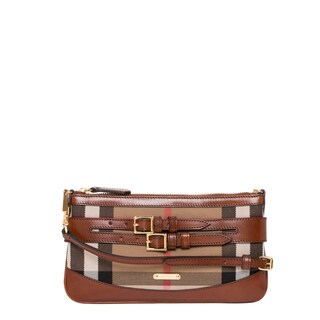 Burberry 'Peyton' Bridled House Check Crossbody