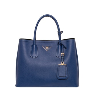 Prada 'Cuir' Royal Blue Saffiano Leather Tote