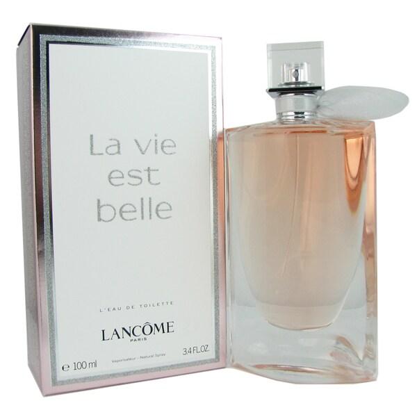 Lancome La Vie Est Belle Women's 3.4-ounce Eau de Toilette Spray