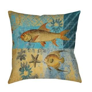 Thumbprintz Caribbean Cove IV Indoor/ Outdoor Throw Pillow