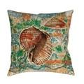 Thumbprintz Coastal Motif II Indoor/ Outdoor Pillow