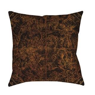 Thumbprintz Northern Celestial Sphere Vintage Indoor/ Outdoor Pillow