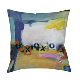 Thumbprintz Besame Mucho II Indoor/ Outdoor Throw Pillow