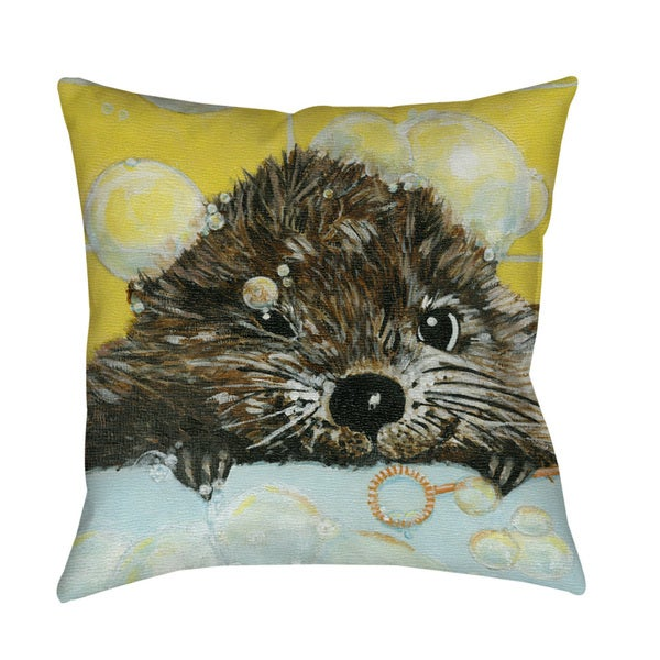 Thumbprintz Bubbles Olivia Indoor/ Outdoor Throw Pillow 13739090