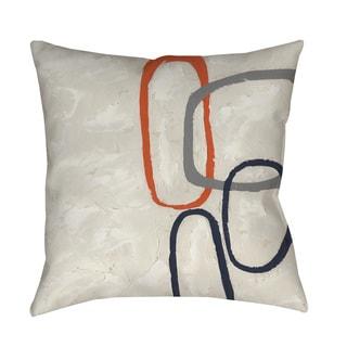 Thumbprintz Capacity I Indoor/ Outdoor Throw Pillow