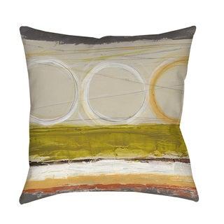 Thumbprintz Tangent II Indoor/ Outdoor Throw Pillow