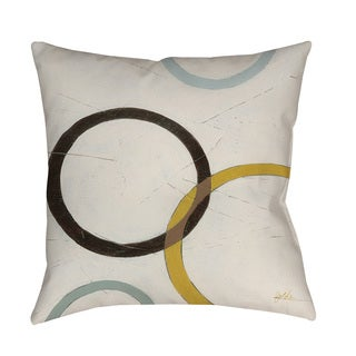 Thumbprintz Tangle IV Indoor/ Outdoor Throw Pillow