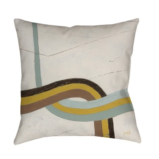 Thumbprintz Tangle IX Indoor/ Outdoor Throw Pillow