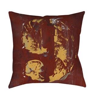Thumbprintz Vintage Numbers IX Indoor/ Outdoor Throw Pillow