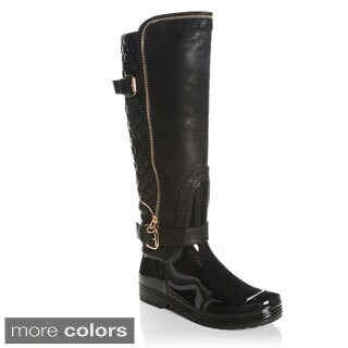 Henry Ferrera Women's Quilted-back Cold Weather Riding Boots