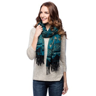 Women's Soft Geo Shawl (India)