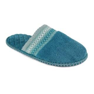 Muk Luks Women's 'Cathy' Caribean Micro Chenille Slippers