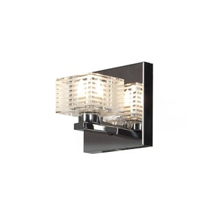 Access Lighting Sophie 1 Light Etched Crystal Vanity