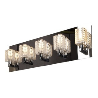Access Lighting Sophie 5 Light Etched Crystal Vanity