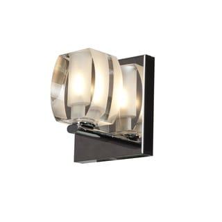 Access Lighting Evia 1 LIght Crystal Vanity