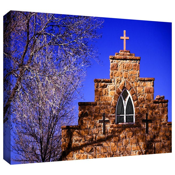 Dean Uhlinger ' Church' Gallery-wrapped Canvas 13740913