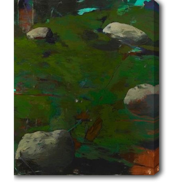 The Rocks' Oil on Canvas Art