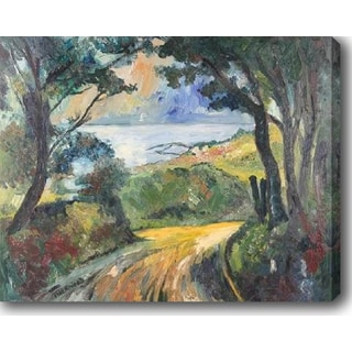 The Trail' Oil on Canvas Art