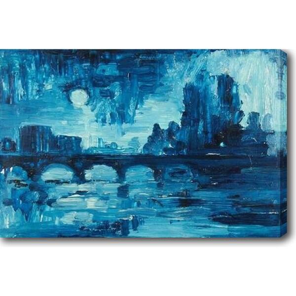 Serenity' Oil on Canvas Art