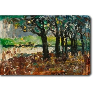 The Woods' Oil on Canvas Art