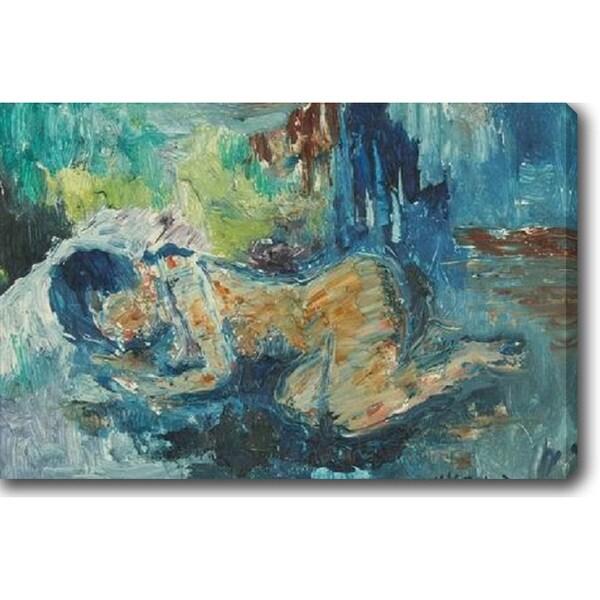 Sleeping Beauty' Oil on Canvas Art