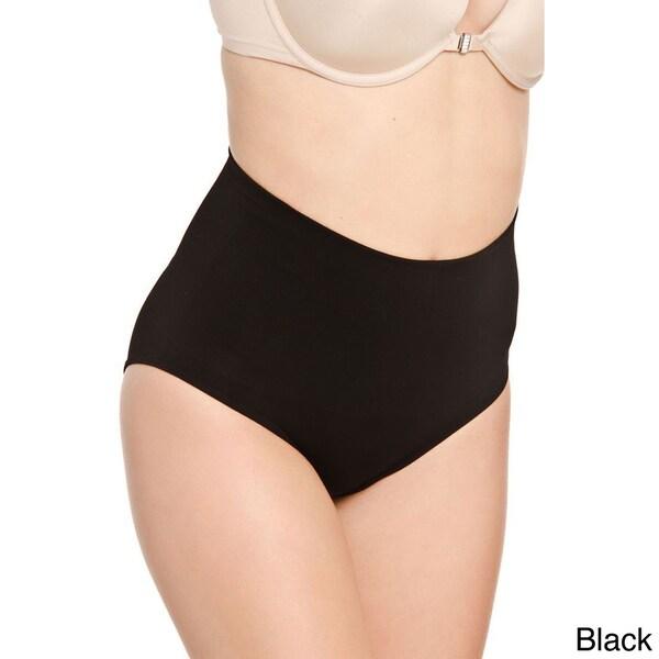 Women's Hot Bottoms High Waist Seamless Control Briefs