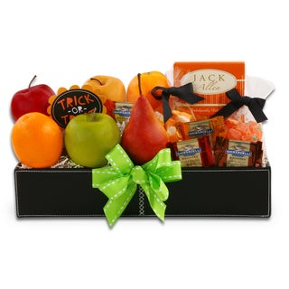 Halloween Fruits and Treats Snack Gift Basket