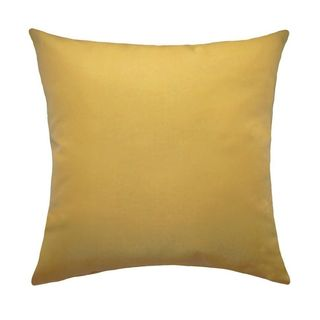 Trijaya Living Sunbrella Canvas Wheat 5414 Throw Pillow (14 x 14)