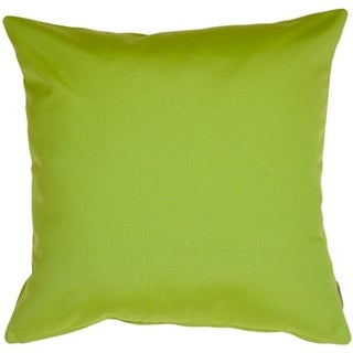 Trijaya Living Sunbrella 14x14 Canvas Macow Throw Pillow