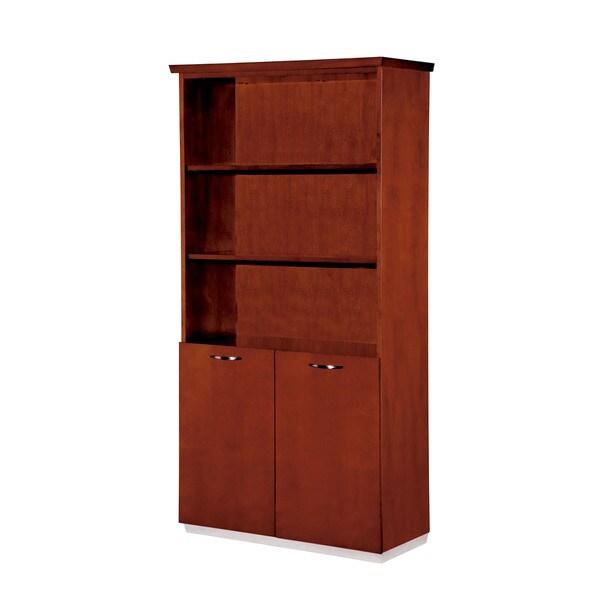 Bronze Cherry 72-inch High Bookcase