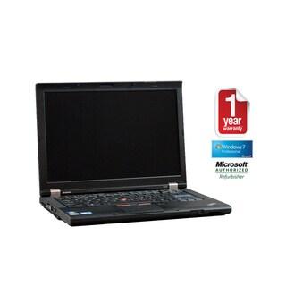 Lenovo ThinkPad T410 Intel Core i5 2.4GHz 4GB 320GB 14.1-inch Wi-Fi DVD-RW Windows 7 Professional (64-bit) (Refurbished)
