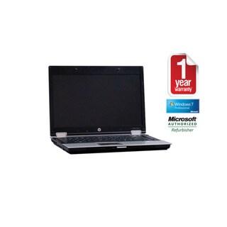 HP EliteBook 8440P Intel Core i5- 2.4GHz 4GB 750GB 14in Wi-Fi DVDRW Windows 7 Professional (64-bit) (Refurbished)